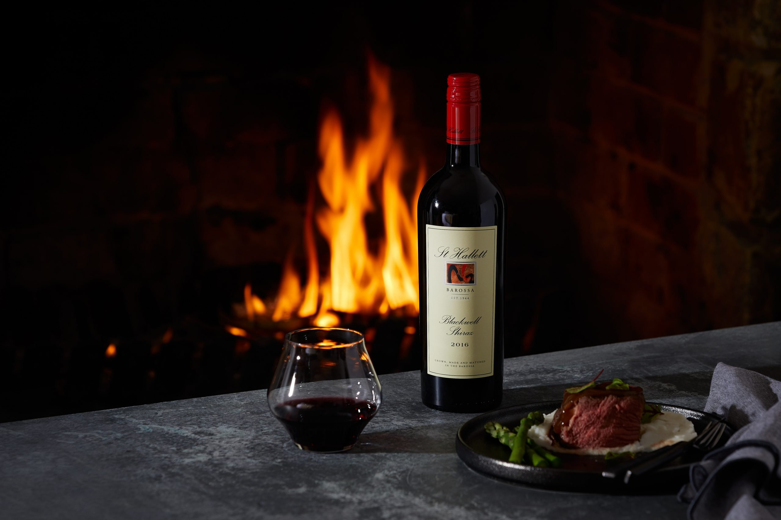 St hallett single vineyard materne shiraz 2020